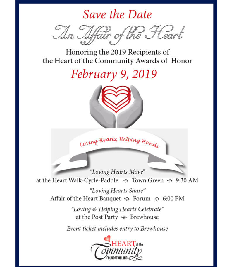 Save the Date! February 9, 2019