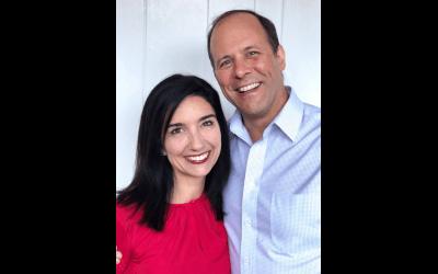 Dr. Ryland and Jennifer Scott, 2020 HOC Award Recipients